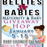 CLOSED Bellies To Babies: Maternity & Baby Giveaway Hop Jan. 5-15 #Bellies2Babies