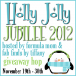 Holly Jolly Jubilee 2012 150x150 CLOSED Giveaway: #Fit4aPrincess July 12 August 4