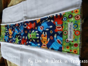 Burp cloth outer