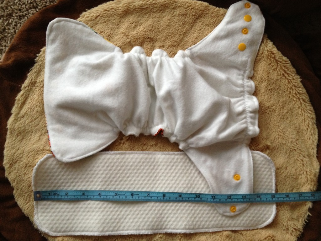 Cheeky Bunz AI2 cloth diaper with Zorb soaker