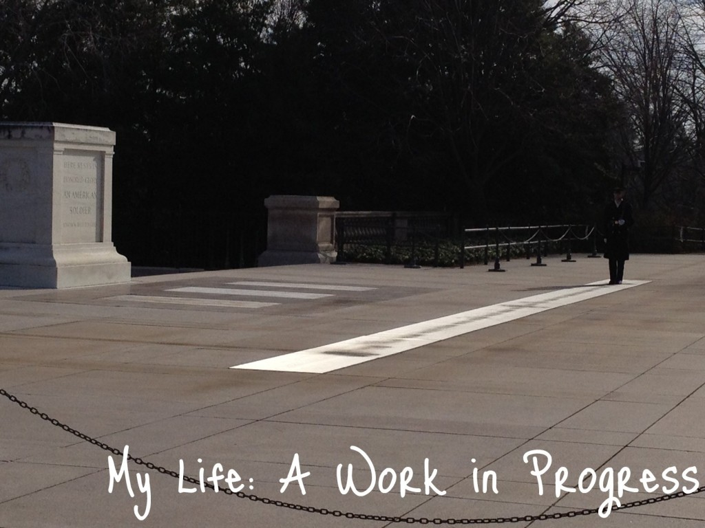 Tomb of the Unknowns- Arlington National Cemetery
