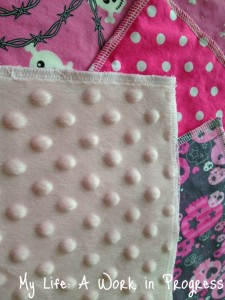 Zookies Crafts3 225x300 Review: Cotton and minky backed cloth wipes by Zookiescrafts