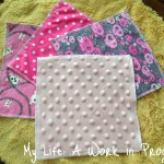 Review: Cotton and minky-backed cloth wipes by Zookiescrafts
