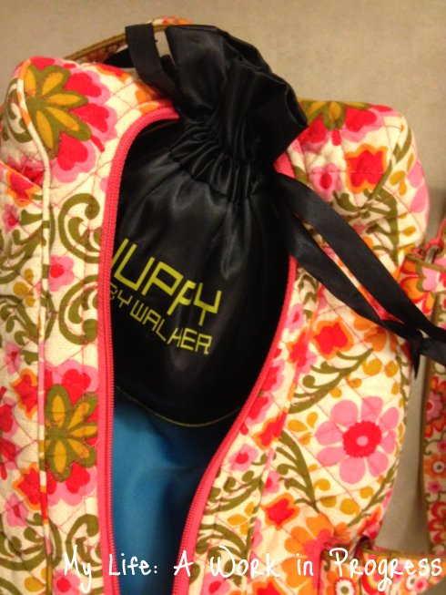 Juppy in diaper bag Review: Juppy Momentum Baby Walker