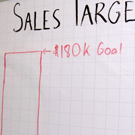 Large Gridded Dry Erase Sheet