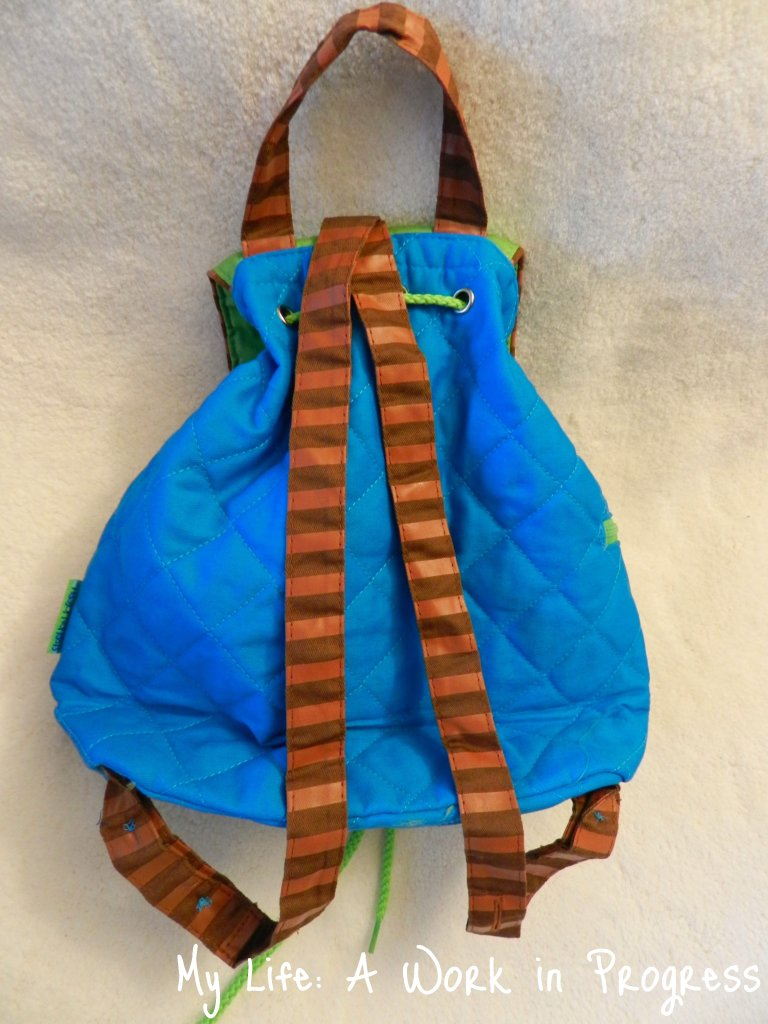 Posy Lane Backpack- back