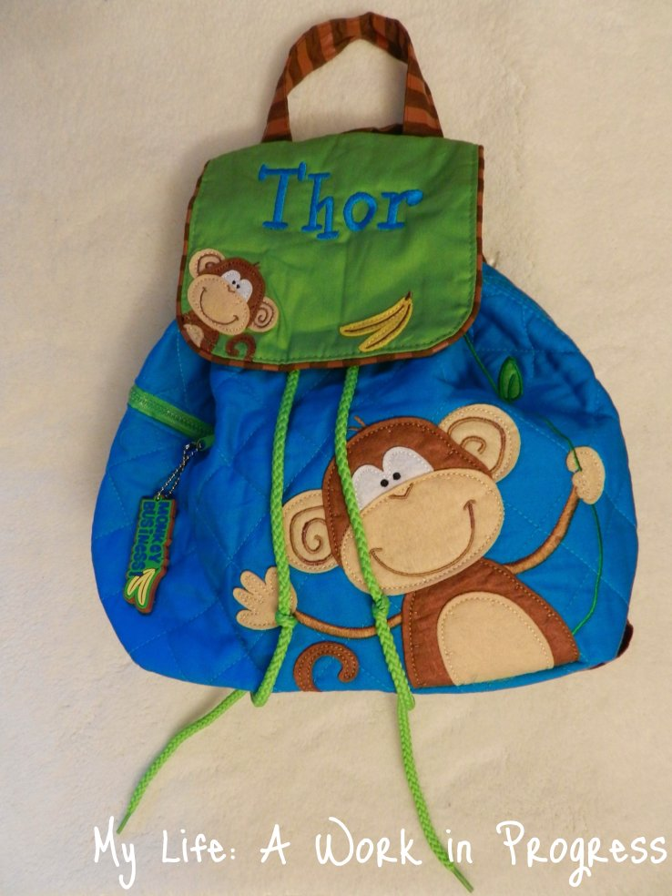 Stephen Joseph Quilted Toddler Backpack by Posy Lane