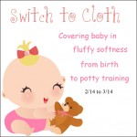 Free Blogger Opportunity: Switch to Cloth 2/14-3/14