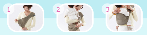 How to use the SUPPORi Review: SUPPORi baby sling