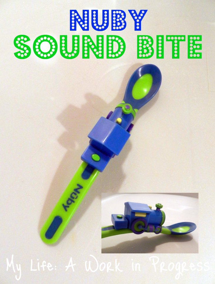 Nuby Sound Bite Weaning Spoons Collage