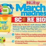 Nuby marchmadness twitter 150x150 Giveaway: Tiny Love 3 in 1 Rocker Napper, 8/1 20