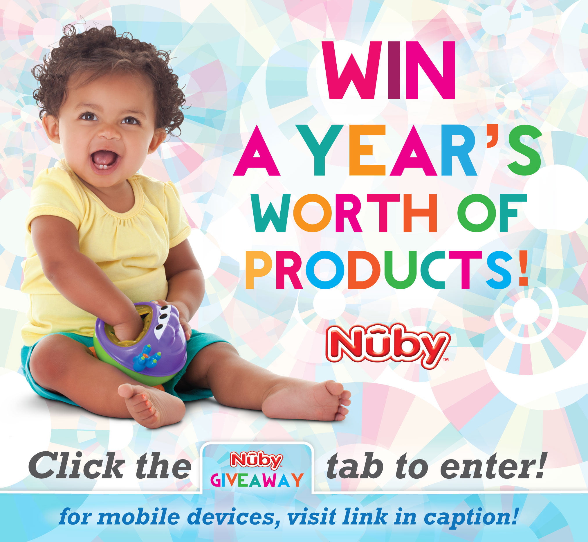 Nuby years worth facebookgraphic Win Nuby baby products!