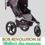 CLOSED Giveaway: BOB Revolution SE jogging stroller May 1-12