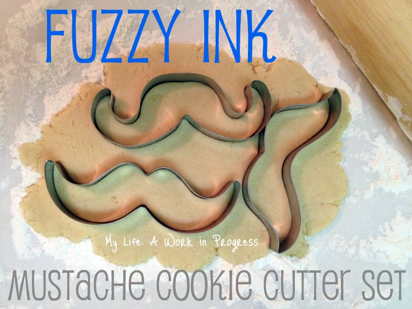 Fuzzy Ink Cookie Cutter set of 3