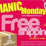 Manic Monday DJ shipping 150x150 Today only! Flip Diaper Cover Sale