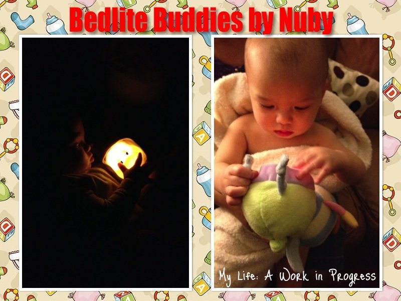 Nuby Bedlite Buddies Collage