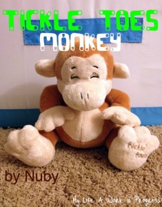 Nuby Tickle Toes Monkey