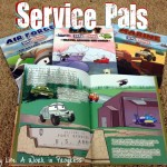Review: Service Pals- educating children about the Army, Navy, Air Force, and Marines