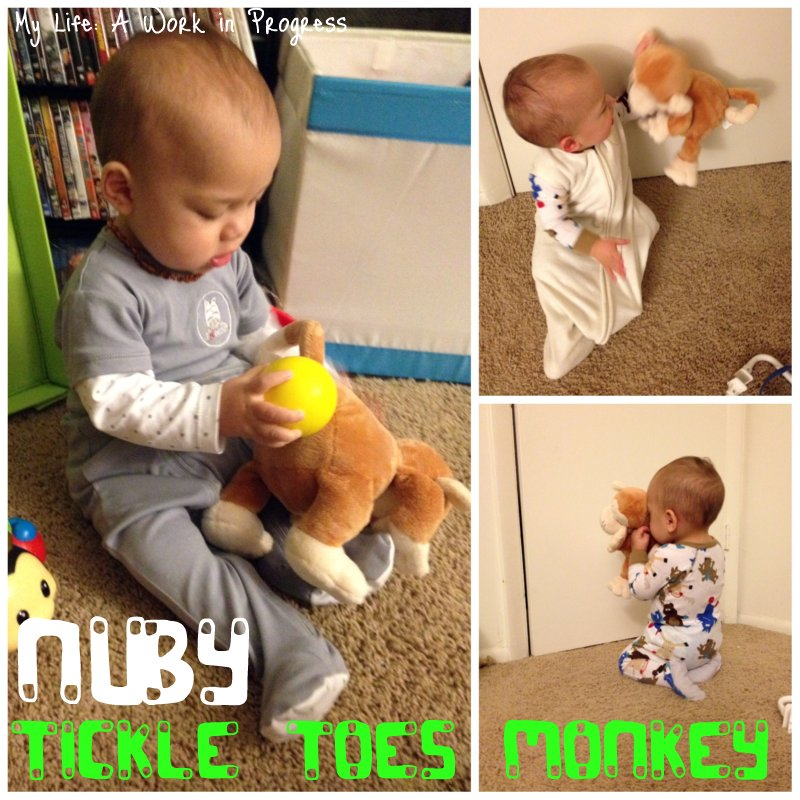 Tickle Toes Monkey Collage