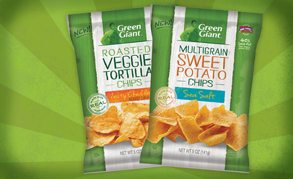 Green Giant Snack Chips