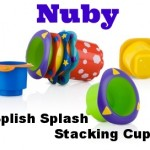 SplishSplashStackingCups 150x150 Review: Nuby Sure Grip Bowl and Feeding Spoons
