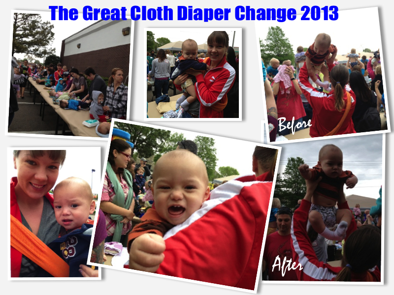 The Great Cloth Diaper Change 2013 Collage