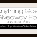 Anything Goes Giveaway Hop  150x150 Giveaway: Combi High Chair 6/27 7/12