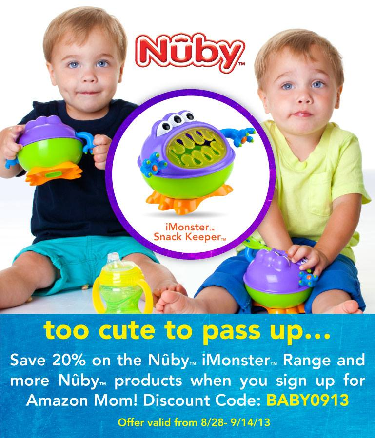 Nuby iMonster giveaway