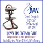 Giveaway: Svan Signet Complete High Chair 8/19-9/9