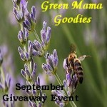 Giveaway: Green Mama Goodies, 9/1-22