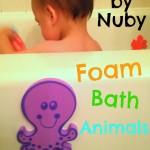 Review: Nuby Foam Bath Animals