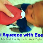 Review: The Sili Squeeze with Eeeze (reusable food pouch) #holidaygiftguide