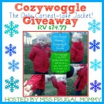 Giveaway: Cozywoggle carseat-safe jacket, 11/25-12/9
