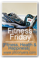 Fitness Friday Jill Conyers button