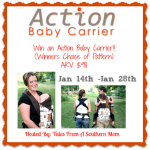 Giveaway: Action Baby Carrier, Jan. 14-28