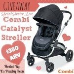 Giveaway: COMBI Catalyst stroller, Jan. 13-31 #CombiLove