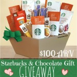 Giveaway: Starbucks & Chocolate ($100 ARV), 2/16-24
