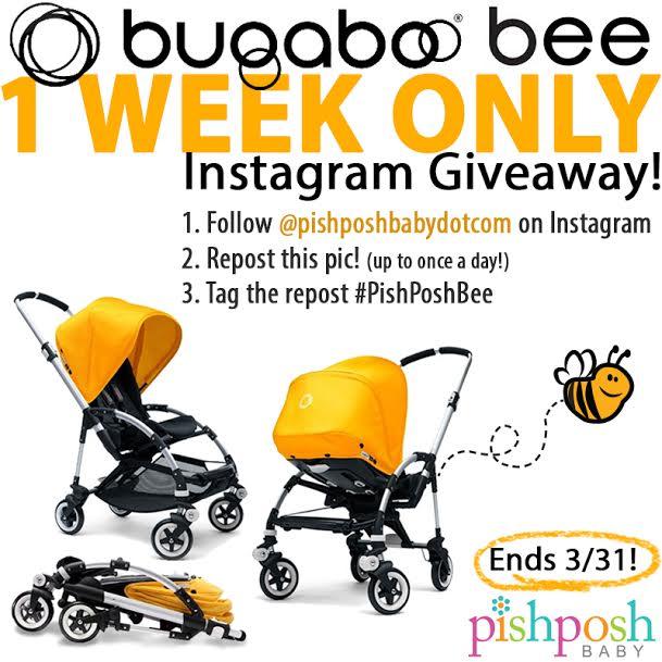 Bugaboo Bee Instagram Giveaway