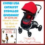 Giveaway: Combi Catalyst Stroller (3/24-4/8)