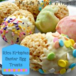 Rice Krispies Easter Egg Treats
