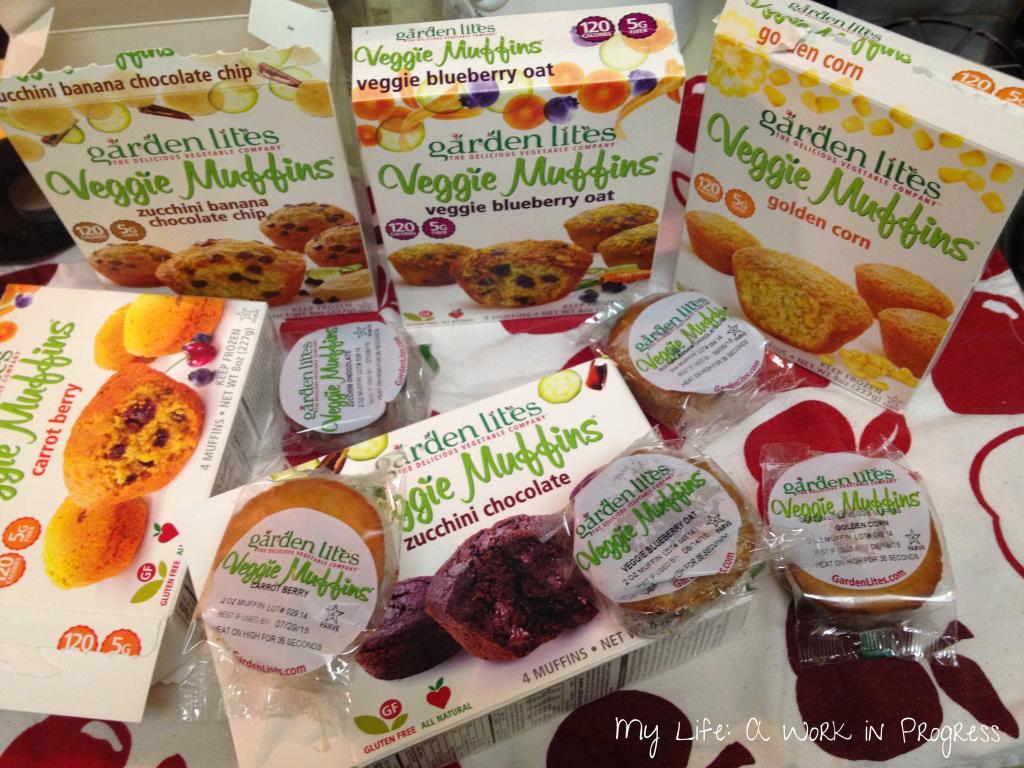 Garden lites veggie muffins review my life a work in - Garden lites blueberry oat muffins ...