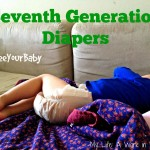 Review: Seventh Generation Diapers (#FreeYourBaby & win free diapers!) @seventhgen
