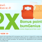 Double Bonus Points at Diaper Junction!