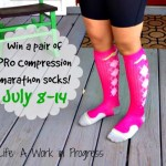 Giveaway: Win a pair of PRO Compression marathon socks
