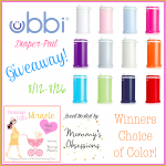 Giveaway: Ubbi Diaper Pail, 8/12-26 (US only)