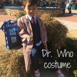 Kid's DIY Dr. Who costume for Halloween