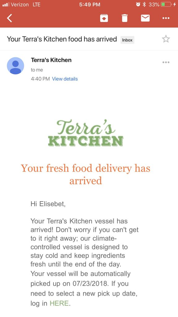 Terra S Kitchen Unsponsored Review